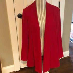 Calvin Klein Women's Red Jacket 2x